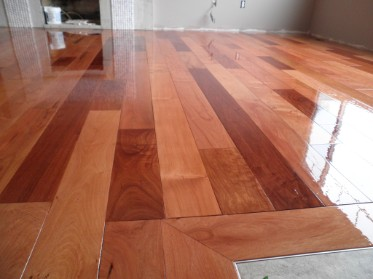 refinishing hardwood