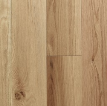 red oak natural wire brushed collection